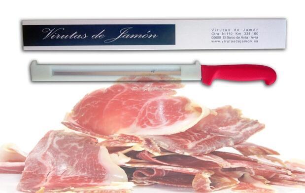 Cuchillo jamonero con protector 14,90€
