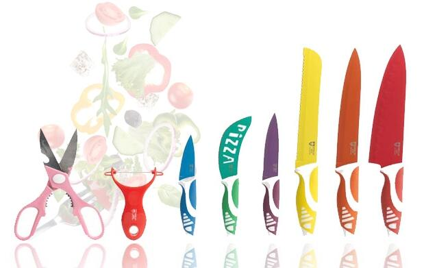 Set de 8 piezas cuchillos suizos 14,90€