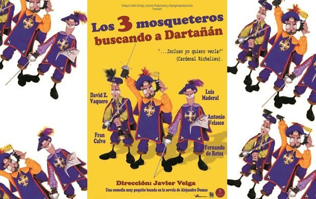 Los 3 mosqueteros buscando a Dartañán 8€
