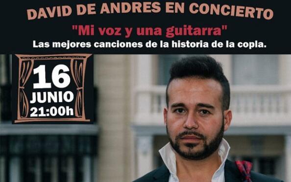 Concierto de David de Andrés en el Teatro Carrión