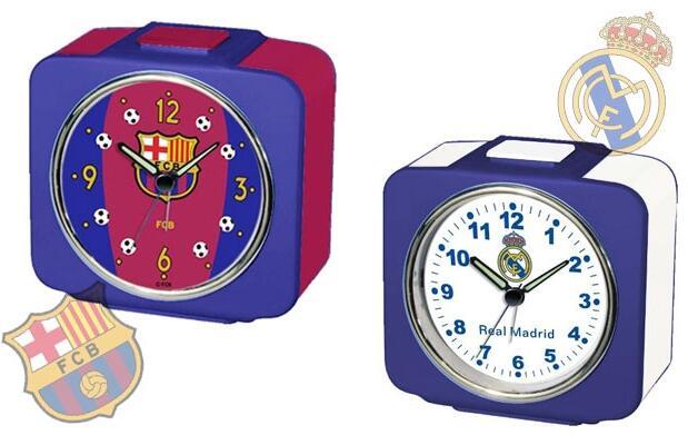 Reloj-despertador cuadrado 10,90€