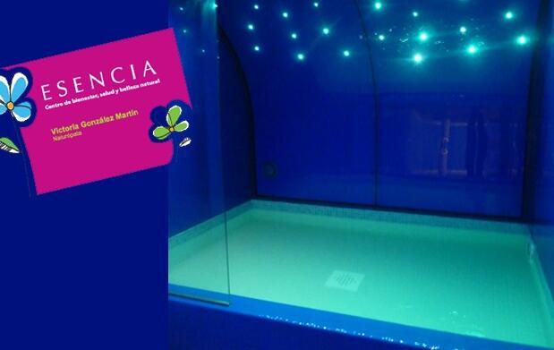 Terapia de flotación en piscina 25€