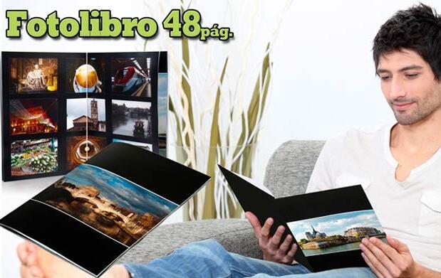 Fotolibro personalizado 48 páginas 9,90 €
