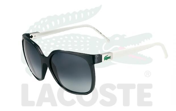Gafas de sol Lacoste blanco y negro 59€