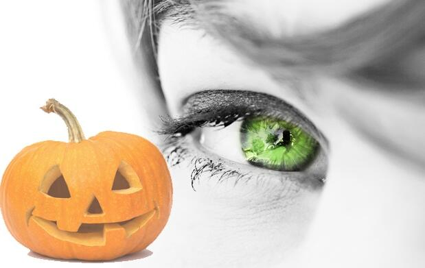 Lentillas de colores para Halloween 19€
