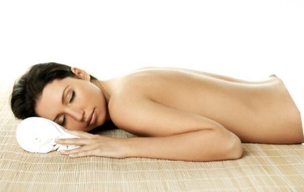 Sesión de masaje relajante