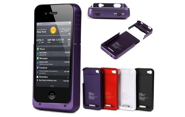 Funda con batería para iPhone4 por 16€