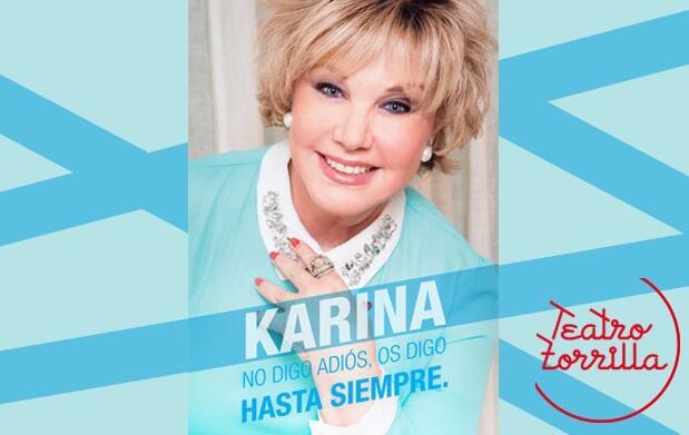 Entrada concierto de Karina por 15€