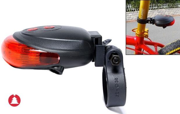 Láser de seguridad para bici 12€