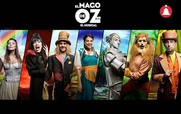 Musical 'El Mago de Oz' por 12€