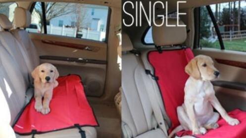 Manta cubre-asientos coche para mascotas