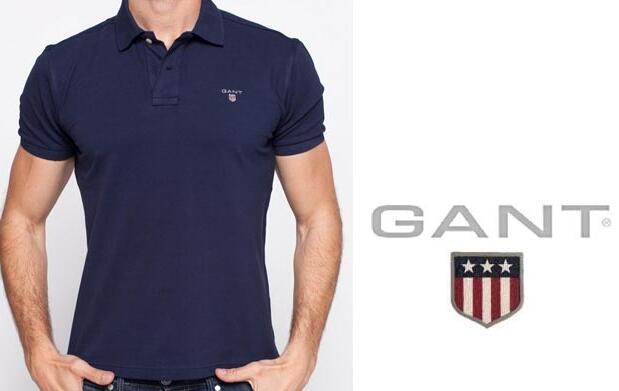 Polo color azul marino Gant 37€