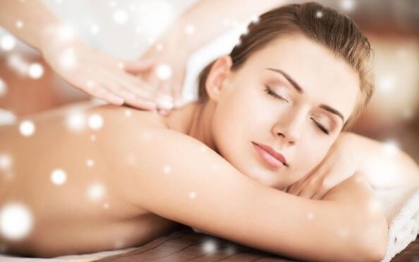Increíble masaje de espalda