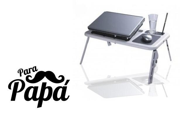 Mesa plegable para portátil por 16€