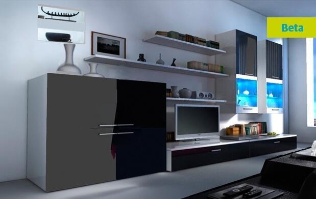 Conjunto salón con iluminación LED 389€