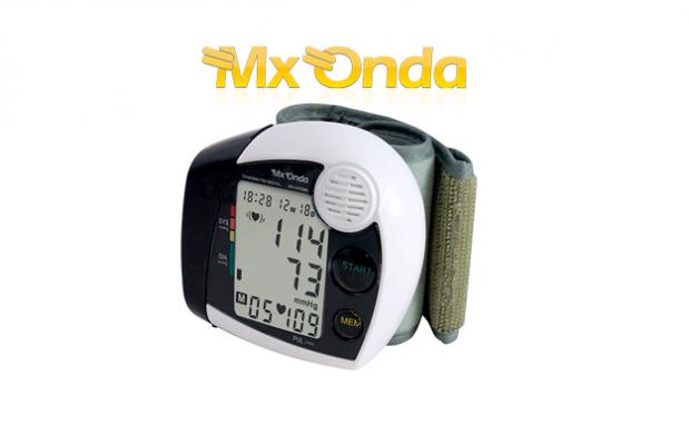 Tensiómetro de muñeca con voz y pantalla LCD por 24.95€