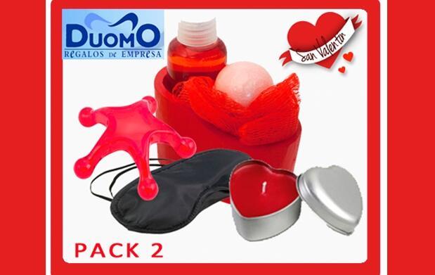 Pack San Valentín con masajeador 8 €