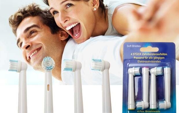 8 recambios compatibles con Oral B 12€