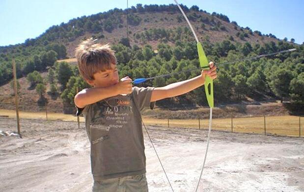 Parque de aventuras con tiro con arco 6€