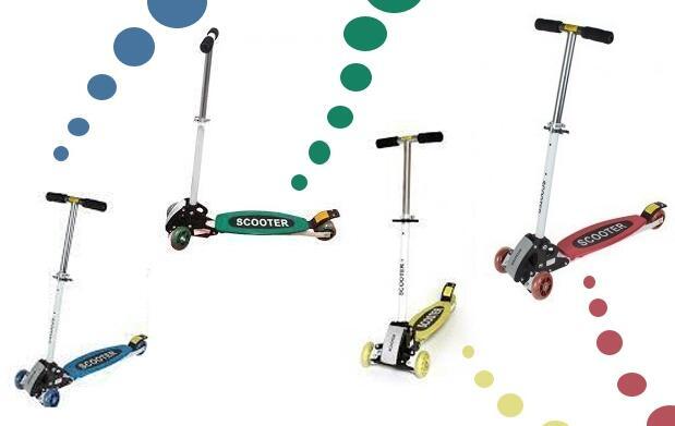 Patinete Scooter 4 ruedas por 19,90€