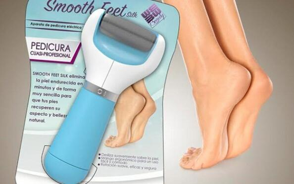 Máquina de pedicura Smooth Feet  Silk