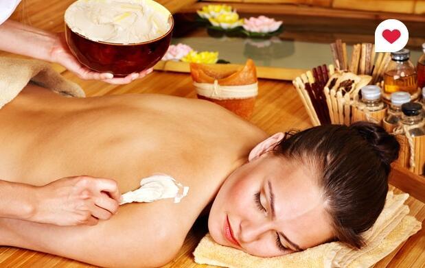 Peeling, masaje e hidratación corporal 16€