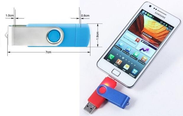 Pendrive dual para móvil y tablet 16 GB