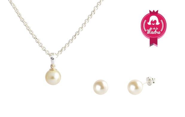Set perla made with SWAROVSKI® 19€