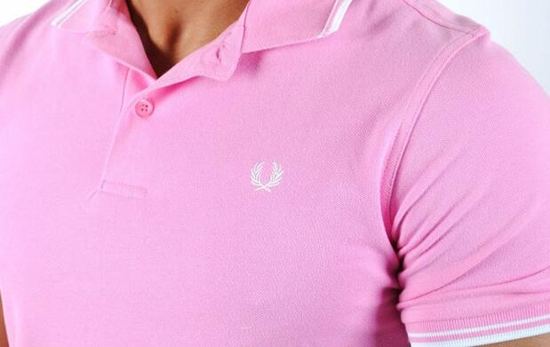 Polo Fred Perry Rosa 37€