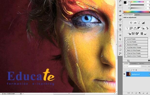 Curso online Photoshop avanzado 18€