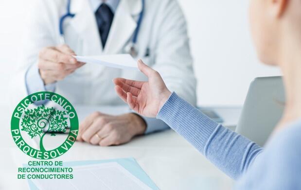 Obtén tu certificado médico-psicotécnico
