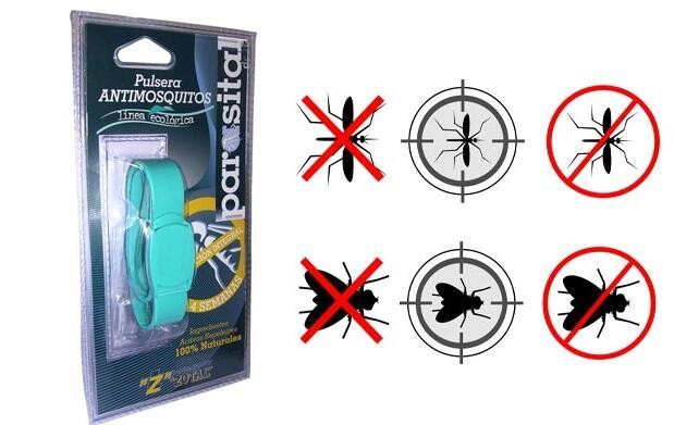 2 Pulseras antimosquitos por 22€