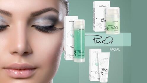Pack facial PureO2 con peeling, mascarilla y reparador