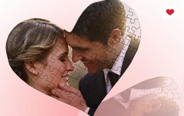 Puzzle corazón San Valentín 13.90€