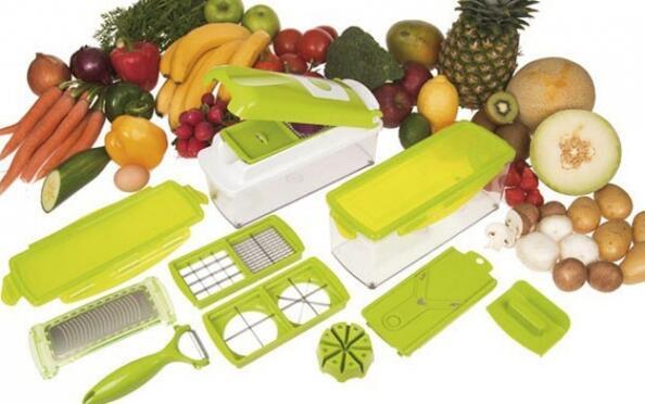 Cortador, rallador y picador verdurasPlus