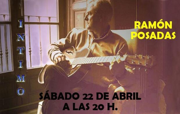 Íntimo con Ramón Posadas en el Teatro Cervantes