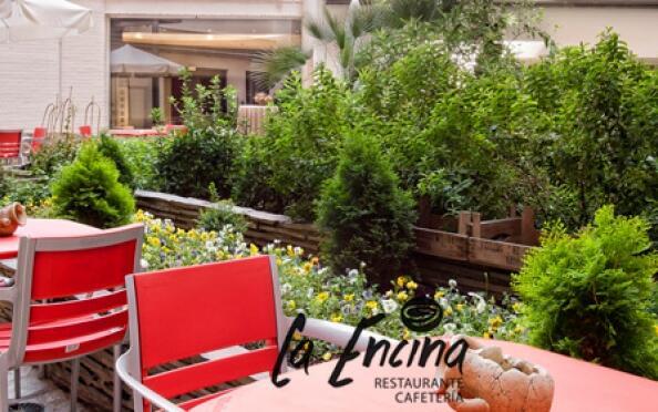 Exclusivo menú del chef para dos en la terraza del Restaurante La Encina