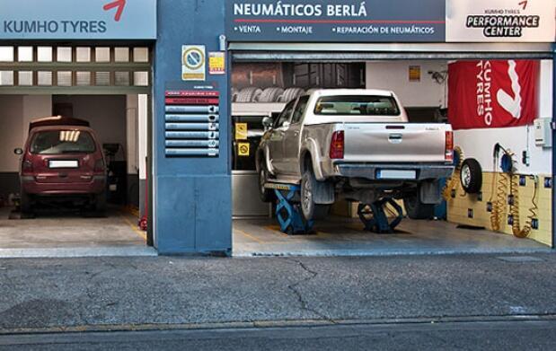 Neumático Pirelli, Montaje y Equilibrado
