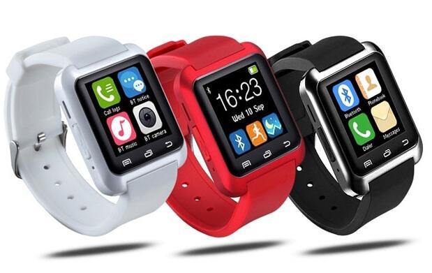 Smartwatch compatible Android e IOS ROJO