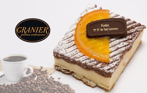 Tarta de San Lorenzo con café 1,95€
