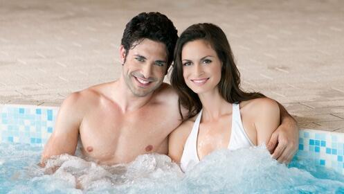 El placer de un gran spa para 2 personas