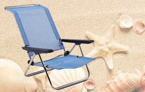 Silla de playa reclinable por 19,95€