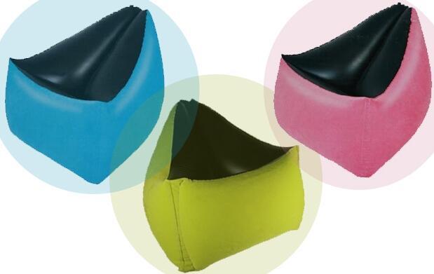 Sofá hinchable de colores por 25,95€