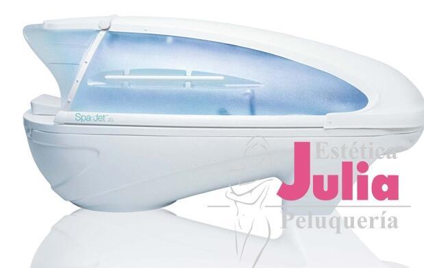 Spa Jet, peeling y envoltura corporal 18€