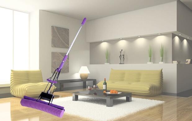 SuperMop 3 en 1: cepillo, fregona y mopa