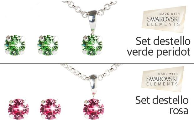 Set Destellos made with Swarovski® 16€
