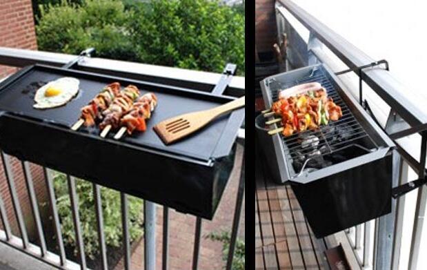Barbacoa grill de balcón 34€