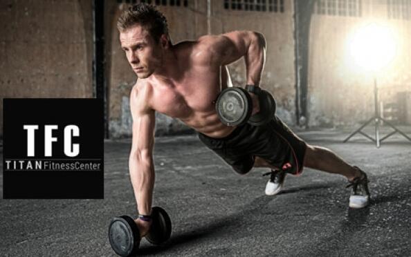 Entrenamiento personal para ponerte en forma en Titan Fitness Center