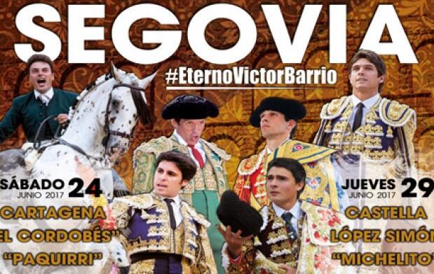 Entradas para los toros el 24 o 29 de junio en Segovia
