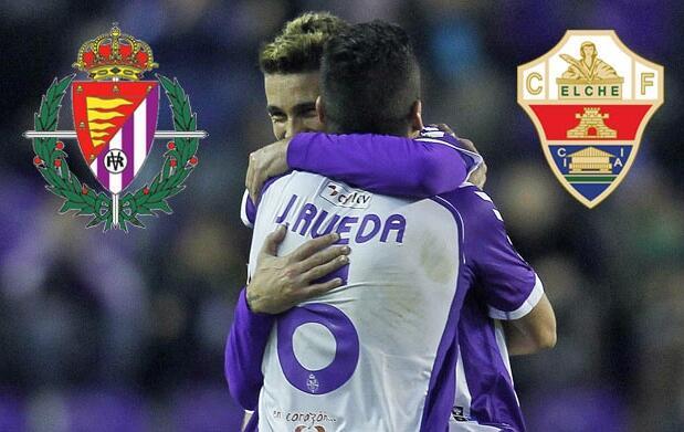 Real Valladolid vs Elche C.F. 8€